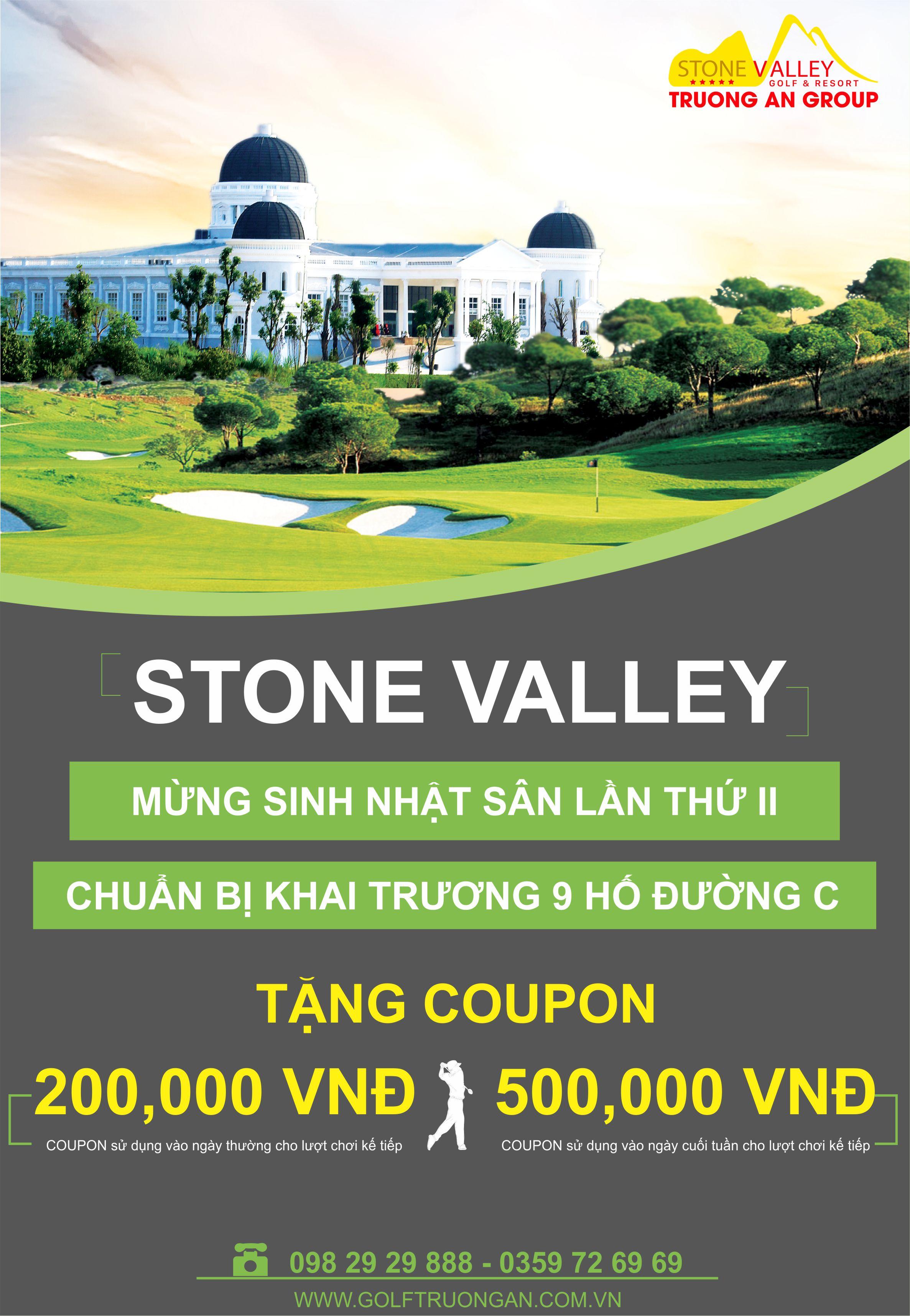 Mừng sinh nhật Stone Valley Golf & Resort lần II & Chuẩn bị mở cửa 9 hố đường C